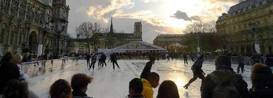 patinoire esplanade de la liberation paris